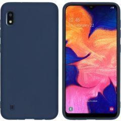 iMoshion Cover Color Samsung Galaxy A10 - Blu scuro