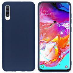 iMoshion Cover Color Samsung Galaxy A70 - Blu scuro