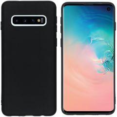 iMoshion Cover Color Samsung Galaxy S10 - Nero