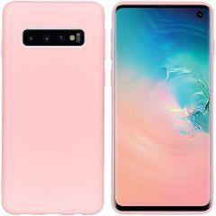 iMoshion Cover Color Samsung Galaxy S10 - Rosa