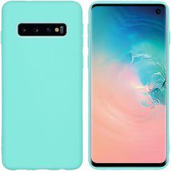 iMoshion Cover Color Samsung Galaxy S10 - Verde menta