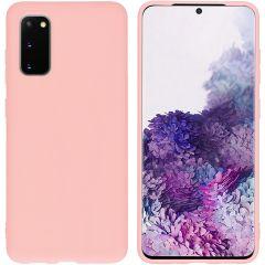 iMoshion Cover Color Samsung Galaxy S20 - Rosa