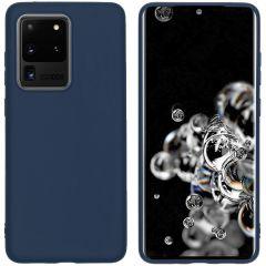 iMoshion Cover Color Samsung Galaxy S20 Ultra - Blu scuro