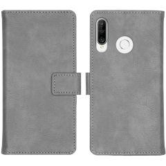 iMoshion Custodia Portafoglio de Luxe Huawei P30 Lite - Grigio