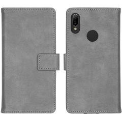 iMoshion Custodia Portafoglio de Luxe Huawei Y6 (2019) - Grigio