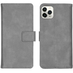 iMoshion Custodia Portafoglio de Luxe iPhone 11 Pro Max - Grigio