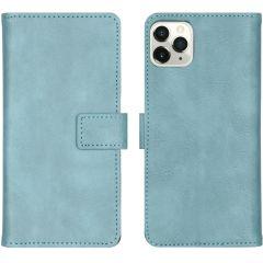 iMoshion Custodia Portafoglio de Luxe iPhone 11 Pro Max - Azzurro