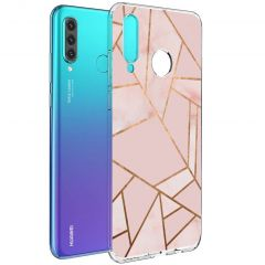 iMoshion Cover Design Huawei P30 Lite - Pink Graphic