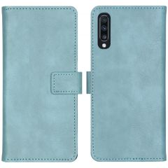 iMoshion Custodia Portafoglio de Luxe Samsung Galaxy A70 - Azzurro