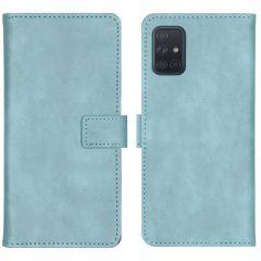 iMoshion Custodia Portafoglio de Luxe Samsung Galaxy A71 - Azzurro