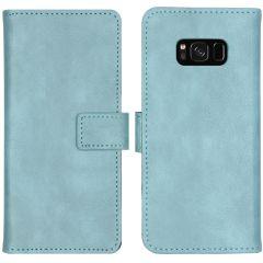 iMoshion Custodia Portafoglio de Luxe Samsung Galaxy S8 - Azzurro
