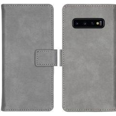 iMoshion Custodia Portafoglio de Luxe Samsung Galaxy S10 - Grigio