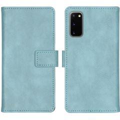 iMoshion Custodia Portafoglio de Luxe Samsung Galaxy S20 - Azzurro