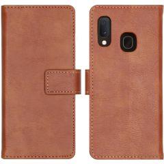 iMoshion Custodia Portafoglio de Luxe Samsung Galaxy A20e - Marrone