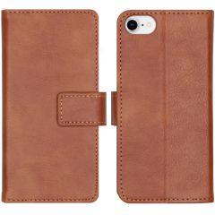 iMoshion Custodia Portafoglio de Luxe iPhone SE (2020) / 8 / 7 / 6(s) - Marrone