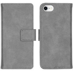 iMoshion Custodia Portafoglio de Luxe iPhone SE (2020) / 8 / 7 / 6(s) - Grigio