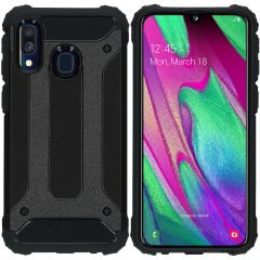 iMoshion Cover Robusta Xtreme Samsung Galaxy A40 - Nero