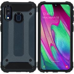 iMoshion Cover Robusta Xtreme Samsung Galaxy A40 - Blu scuro