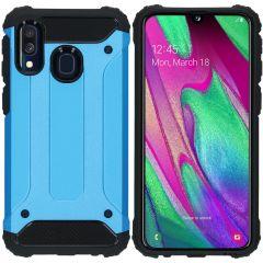 iMoshion Cover Robusta Xtreme Samsung Galaxy A40 - Azzurro
