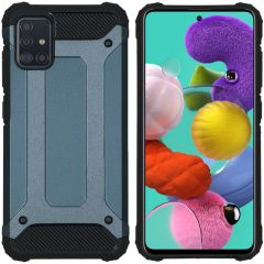 iMoshion Cover Robusta Xtreme Samsung Galaxy A51 - Blu scuro