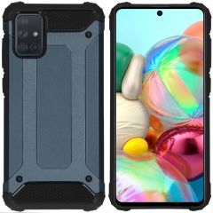 iMoshion Cover Robusta Xtreme Samsung Galaxy A71 - Blu scuro