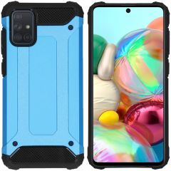 iMoshion Cover Robusta Xtreme Samsung Galaxy A71 - Azzurro
