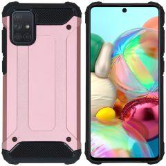 iMoshion Cover Robusta Xtreme Samsung Galaxy A71 - Rosa
