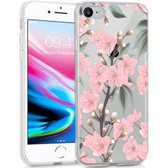 iMoshion Cover Design iPhone SE (2020) / 8 / 7 / 6s - Cherry Blossom