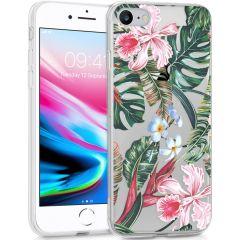 iMoshion Cover Design iPhone SE (2020) / 8 / 7 / 6s - Tropical Jungle