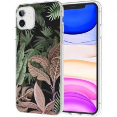 iMoshion Cover Design iPhone 11 - Dark Jungle