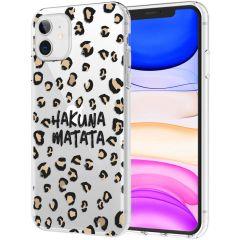 iMoshion Cover Design iPhone 11 - Hakuna Matata