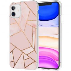 iMoshion Cover Design iPhone 11 - Pink Graphic