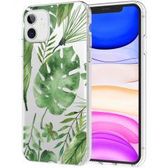 iMoshion Cover Design iPhone 11 - Monstera Leaves