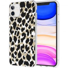 iMoshion Cover Design iPhone 11 - Golden Leopard
