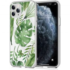 iMoshion Cover Design iPhone 11 Pro - Monstera Leaves