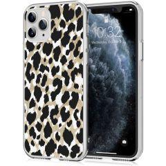iMoshion Cover Design iPhone 11 Pro - Golden Leopard