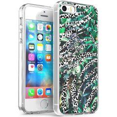 iMoshion Cover Design iPhone 5 / 5s / SE - Leopard Jungle