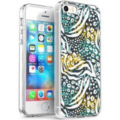 iMoshion Cover Design iPhone 5 / 5s / SE - Mystic Jungle