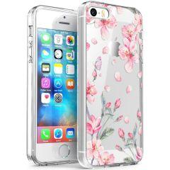 iMoshion Cover Design iPhone 5 / 5s / SE - Blossom Watercolor