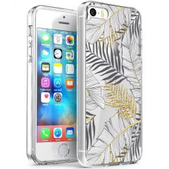 iMoshion Cover Design iPhone 5 / 5s / SE - Glamour Botanic