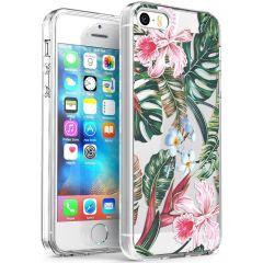 iMoshion Cover Design iPhone 5 / 5s / SE - Tropical Jungle