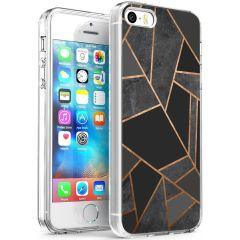 iMoshion Cover Design iPhone 5 / 5s / SE - Black Graphic