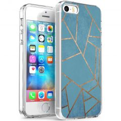 iMoshion Cover Design iPhone 5 / 5s / SE - Blue Graphic