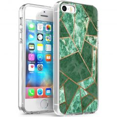 iMoshion Cover Design iPhone 5 / 5s / SE - Green Graphic