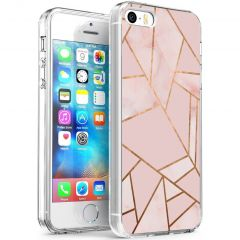 iMoshion Cover Design iPhone 5 / 5s / SE - Pink Graphic