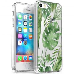 iMoshion Cover Design iPhone 5 / 5s / SE - Monstera Leaves