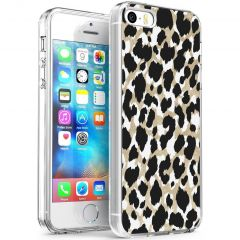 iMoshion Cover Design iPhone 5 / 5s / SE - Golden Leopard