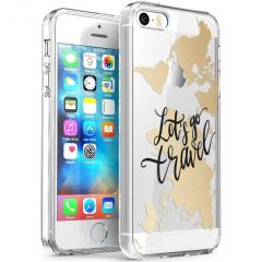iMoshion Cover Design iPhone 5 / 5s / SE - Let's Go Travel