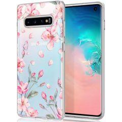 iMoshion Cover Design Samsung Galaxy S10 - Blossom Watercolor