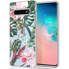 iMoshion Cover Design Samsung Galaxy S10 - Tropical Jungle